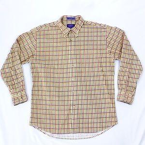VTG Pendleton Dress Shirt Large Long Sleeve